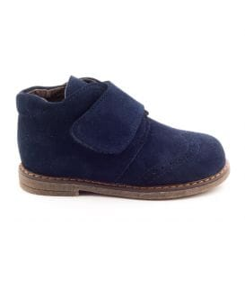 Boni Mini Albert, boys first step suede ankle boots.