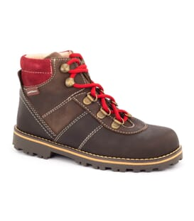 Boni Mountain, boys leather ankle boots.