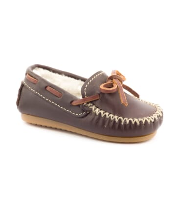 Boni Laponia, leather mocassins -