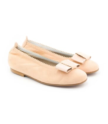 Boni Rosa - ballerines fille rose pale -