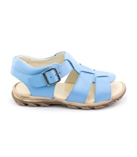 Boni Baby Blue - baby first steps sandals