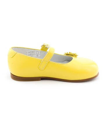 Boni Bouton d'Or - First step girls baby shoes -
