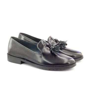 Boni Aspen - Black leather shoes -