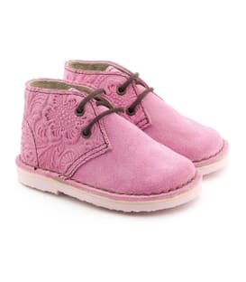 Boni Alice - suede lace-up girls shoe