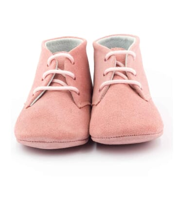 Boni Charles - classic lace-up leather pre-walkers -