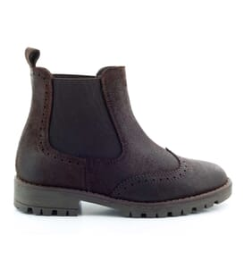 Boni Rainfall – waxed suede children's Boots