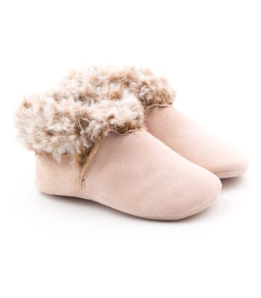 Boni Daria – woolly baby slippers -