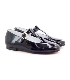 Boni Cléo – patent leather salomé flats
