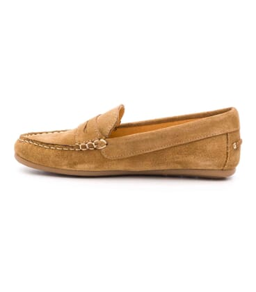 Boni Summer II, suede loafers