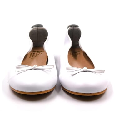 Boni Ophélie - white flat shoes